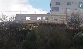 Watch: Arabs throw stones at close range south of J'lem