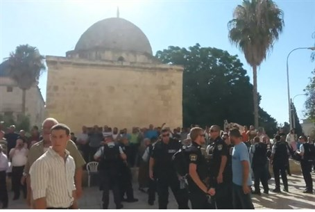Temple Mount disturbance