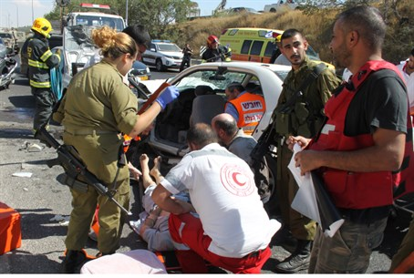 ICRC, IDF treat wounded Palestinians