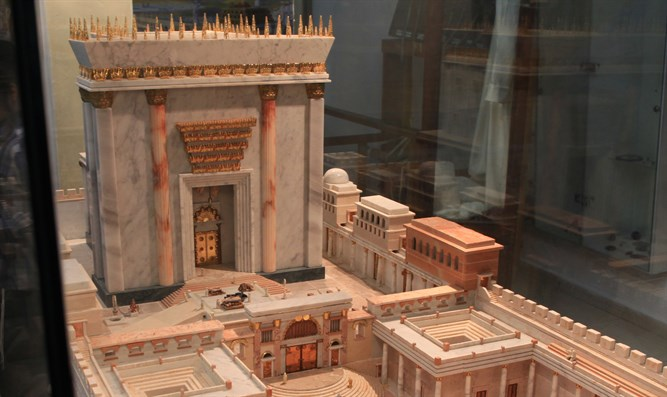 Temple Institute model of Third Temple