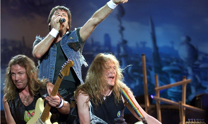 Iron Maiden playing in Rio