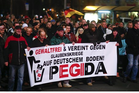 March Against Islam, Dresden, December 15 2014