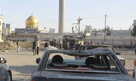 Car bomb at Shi'ite shrine Sayyida Zeinab (file)