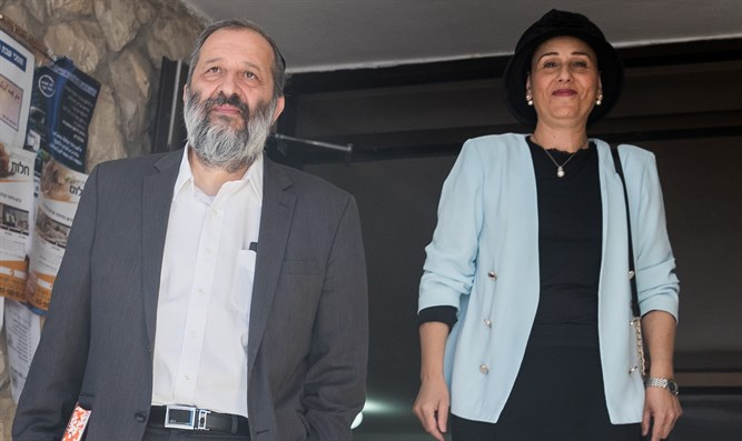 Aryeh and Yaffa Deri